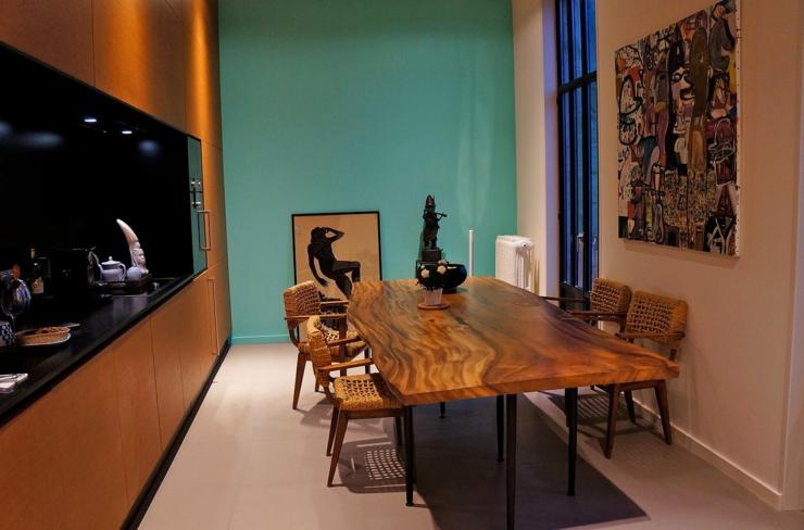 Logement citadin la d coration design artistique for Deco cuisine originale