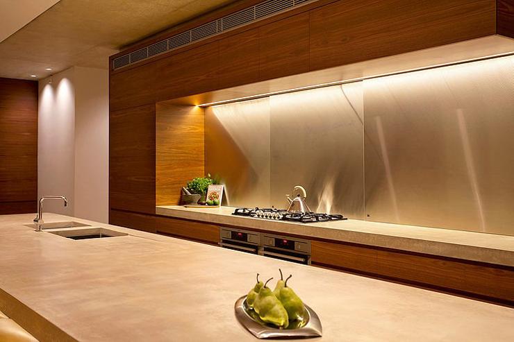 Maison moderne australienne pour une famille moderne for Interieur cuisine moderne