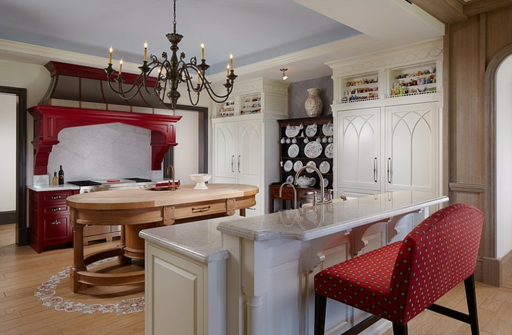 Cuisine Design Luxe Rustique Maison De Vacances Comptoir