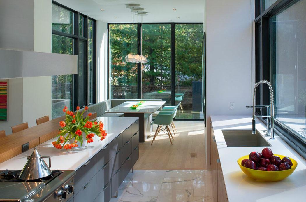Belle maison modulaire contemporaine washington dc for Cuisine design luxe