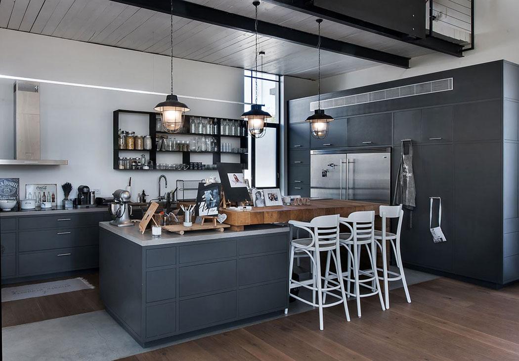 Bien-aimé Belle maison contemporaine au design minimaliste & industriel en  AO23