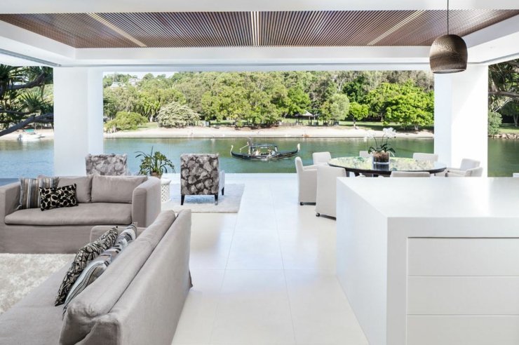 L\'élégance et le style contemporain d\'une maison d\'architecte ...