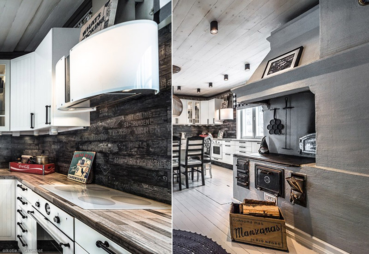 Une tonnante maison en bois au c ur de la campagne for Maison en bois de luxe