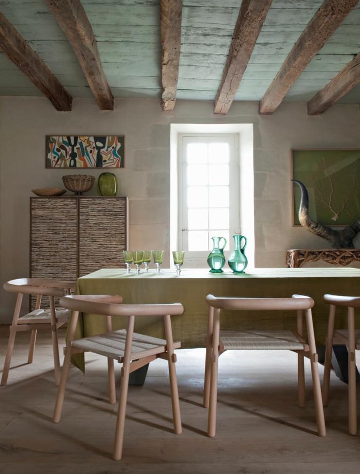 Maison de campagne en france la d coration clectique vivons maison - Decoration a la francaise ...