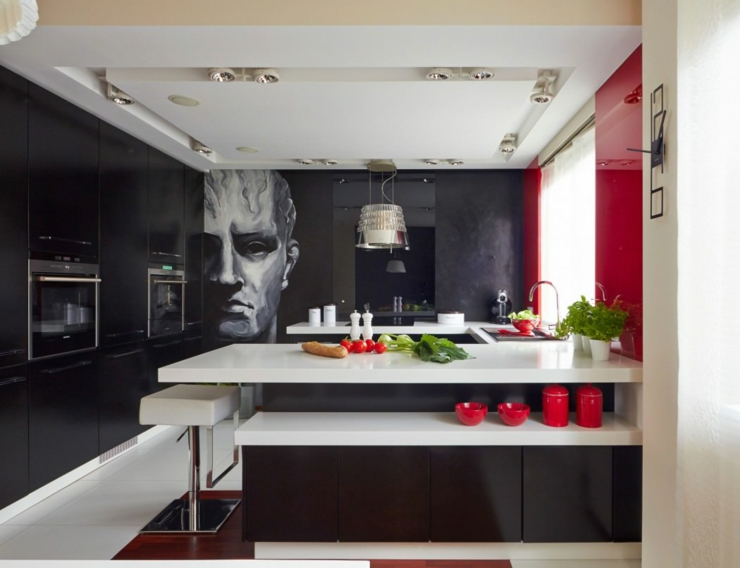 Stunning Decoration Maison Cuisine Moderne Pictures - Design Trends ...