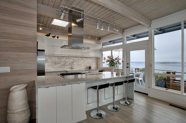 Jolie maison moderne la d coration clectique vivons - Decoration des cuisines modernes ...