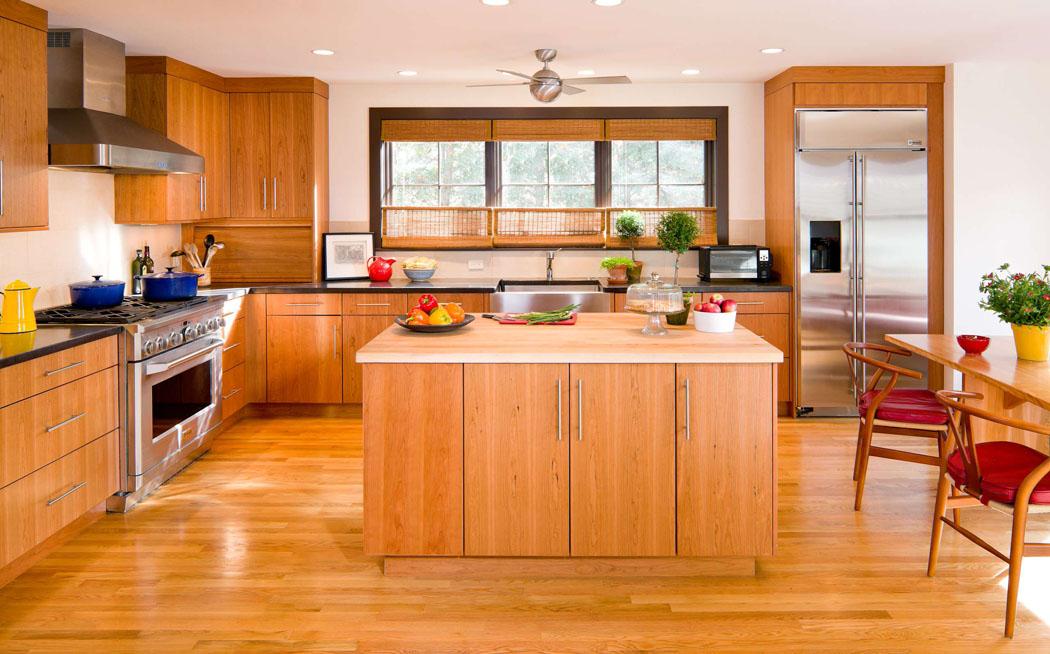 Charmante d co maison pour une jeune famille de quatre en for Decoration maison cuisine americaine