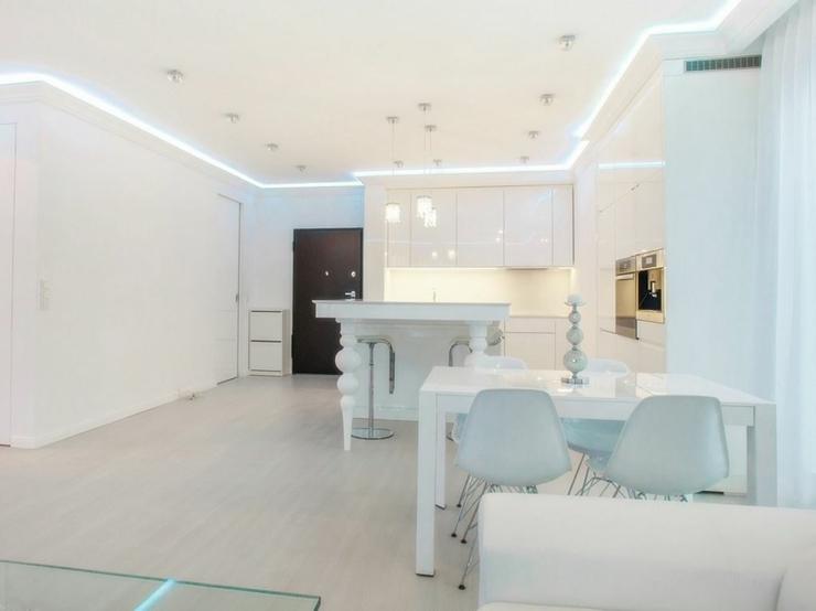 Appartement moderne au design épuré en blanc à Varsovie | Vivons maison