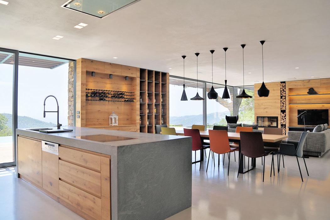 magnifique villa moderne de plain pied situ e sur les