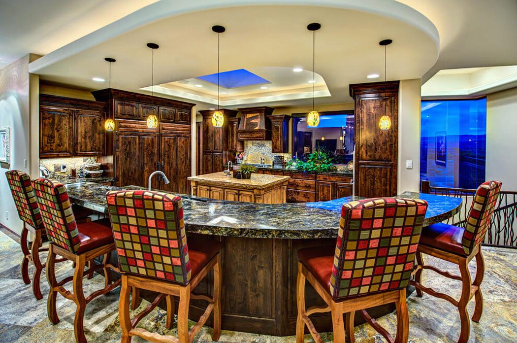Belle maison au c ur du d sert dans l tat d utah vivons maison - Cuisine rustique et moderne ...