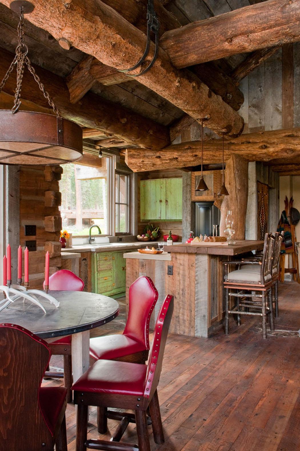Belle maison rustique situ e au c ur d un paysage de - Des vers dans la cuisine ...