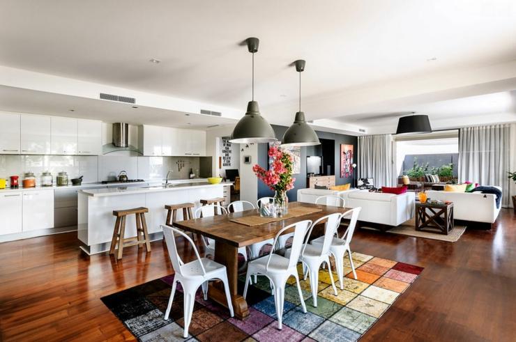 Belle Maison Moderne La D Co Clectique En Australie Vivons Maison