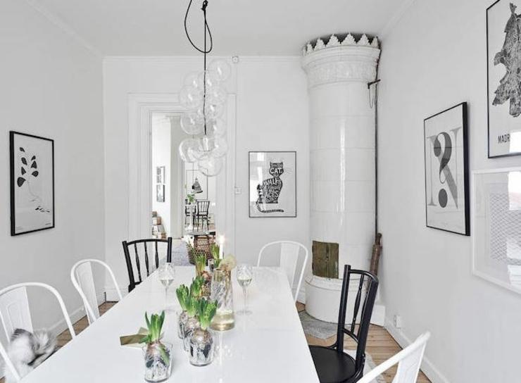 Appartement moderne au design scandinave vivons maison for Petite maison scandinave