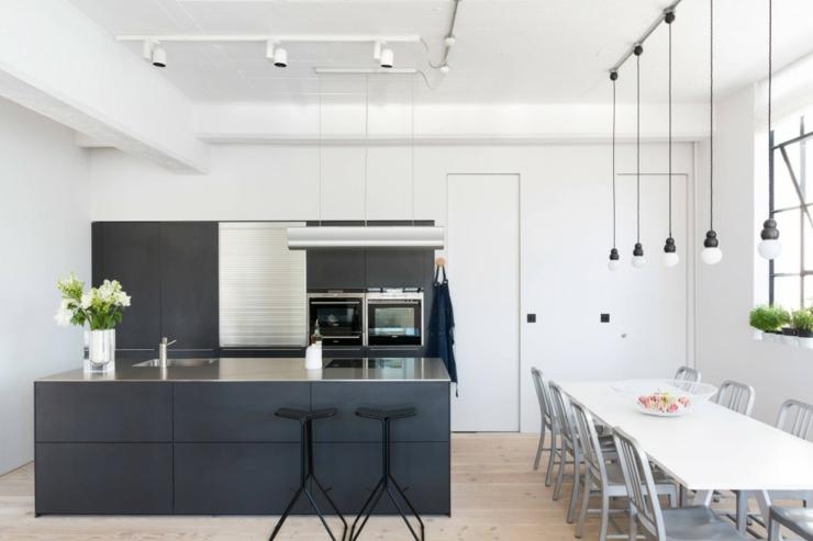 Loft design tr s lumineux au c ur de londres vivons maison - Tubi a vista in casa ...