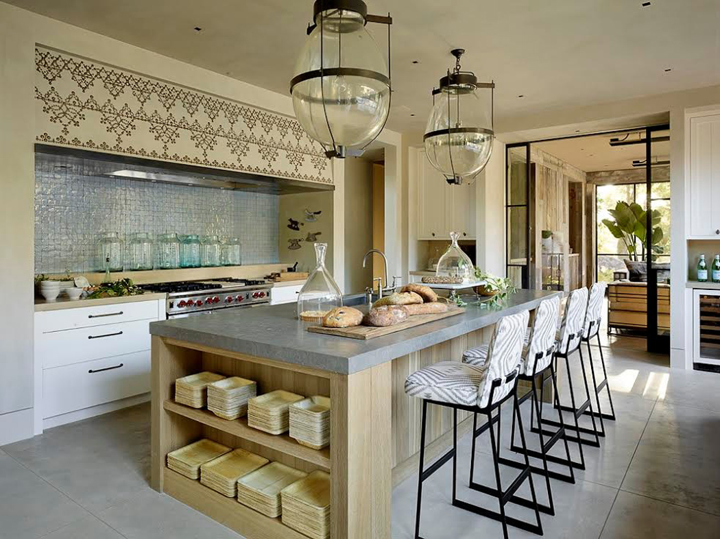 Beautiful Cuisine Moderne Maison Rustique Photos - House Design ...