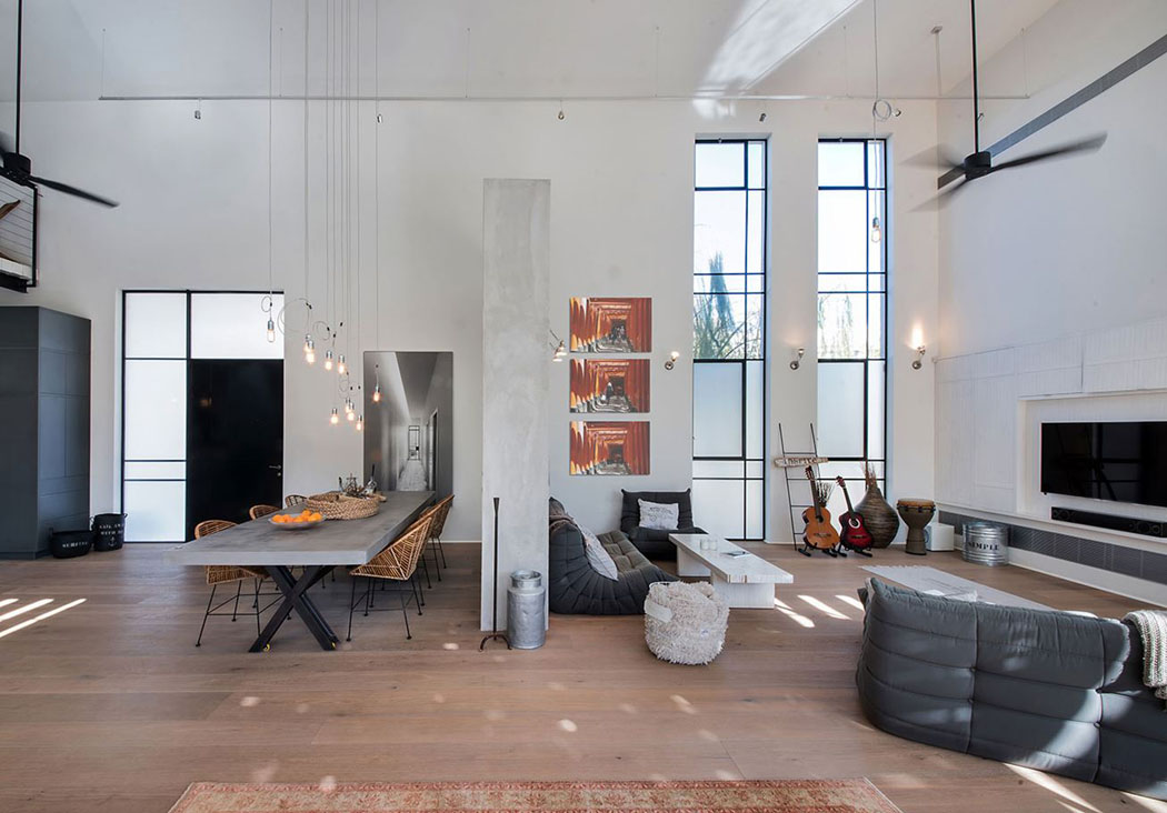 Belle maison contemporaine au design minimaliste & industriel en ...