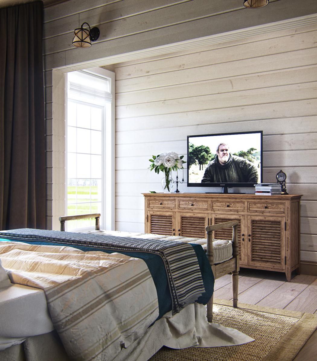 Jolie maison familiale russe au design int rieur n o - Creer style minimaliste maison familiale ...