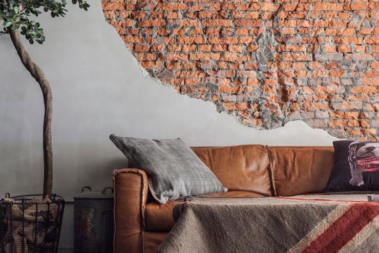 Appartement moderne taipei au design industriel et - Appartement luxe mexicain au plancher bien original ...