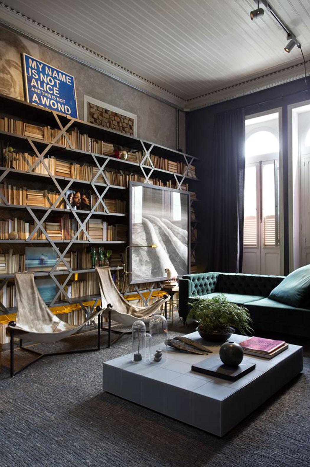 Grand Mobilier Moderne Confortable Salon Petit Appart T2