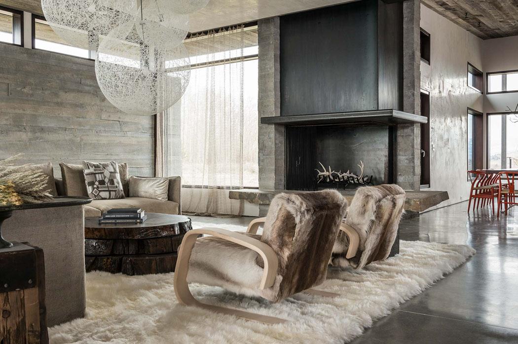 une maison rustique modernisée dans l esprit éclectique dans les