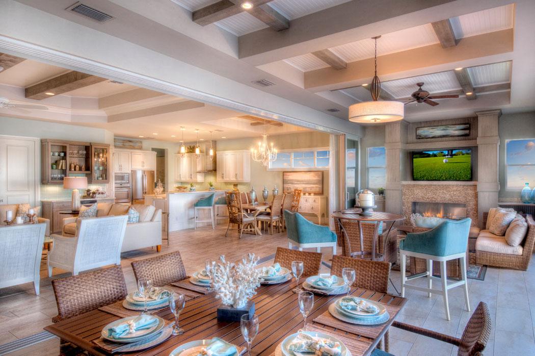 belle demeure miami l architecture int rieure ouverte et originale vivons maison. Black Bedroom Furniture Sets. Home Design Ideas