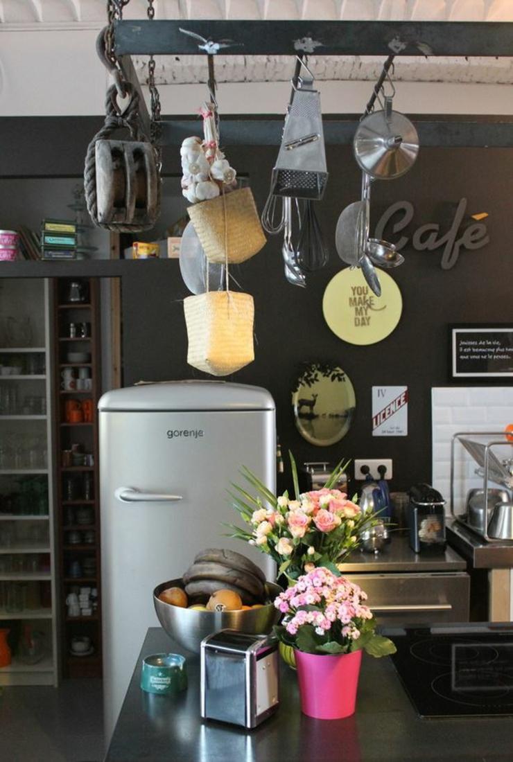 loft industriel au design int rieur d inspiration. Black Bedroom Furniture Sets. Home Design Ideas