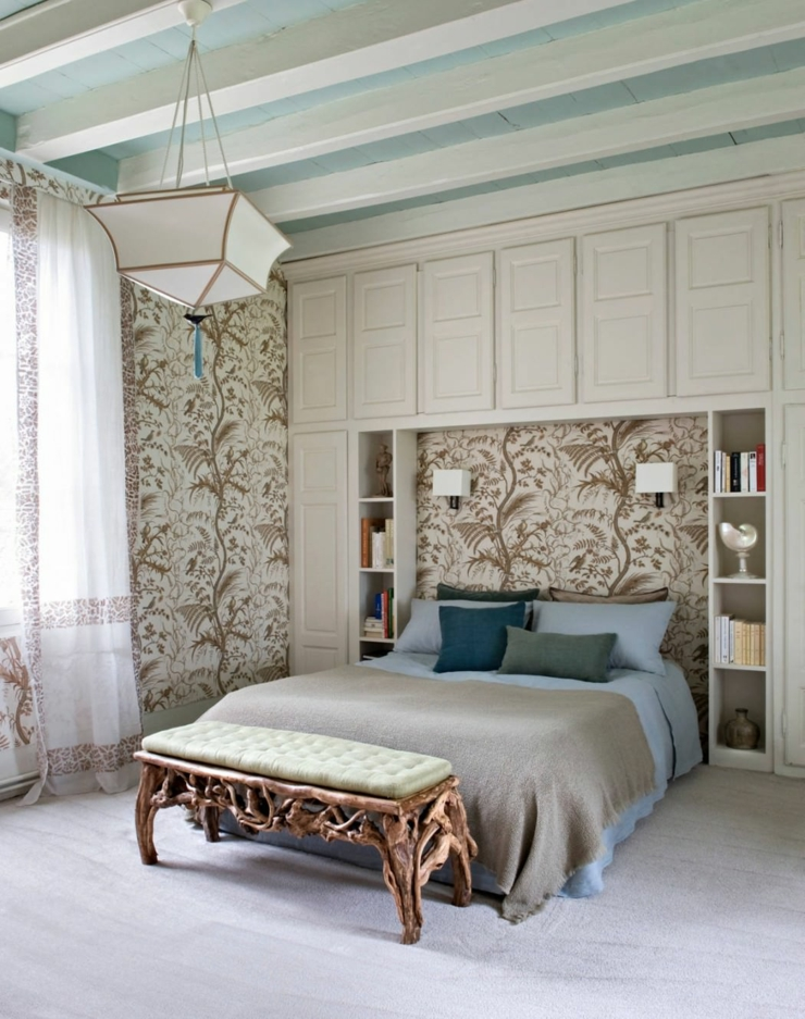 Decoration maison campagne chic style deco chambre for Maison de decoration