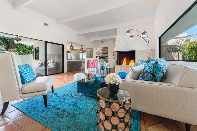sjour de luxe de cette maison de plain pied - Maison Luxe Plain Pied