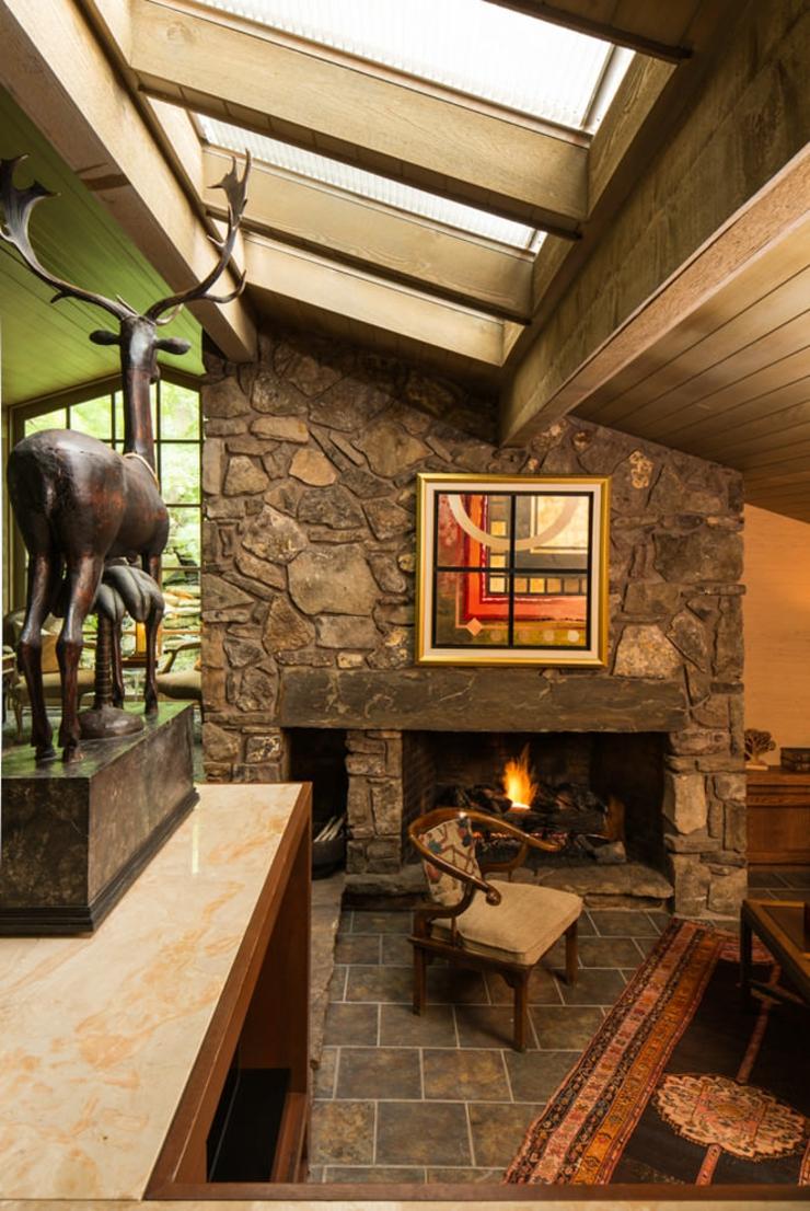 Interieur maison amnager une petite cuisine with for Decoration maison interieur rideaux