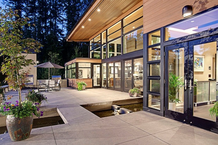 Contemporaine Et Belle Maison Familiale Seattle Vivons Maison