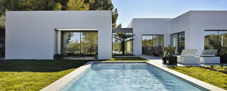 Maison d?architecte sous le soleil du beau sud espagnole Vivons ~ Chalet De Jardin Avec Terrasse