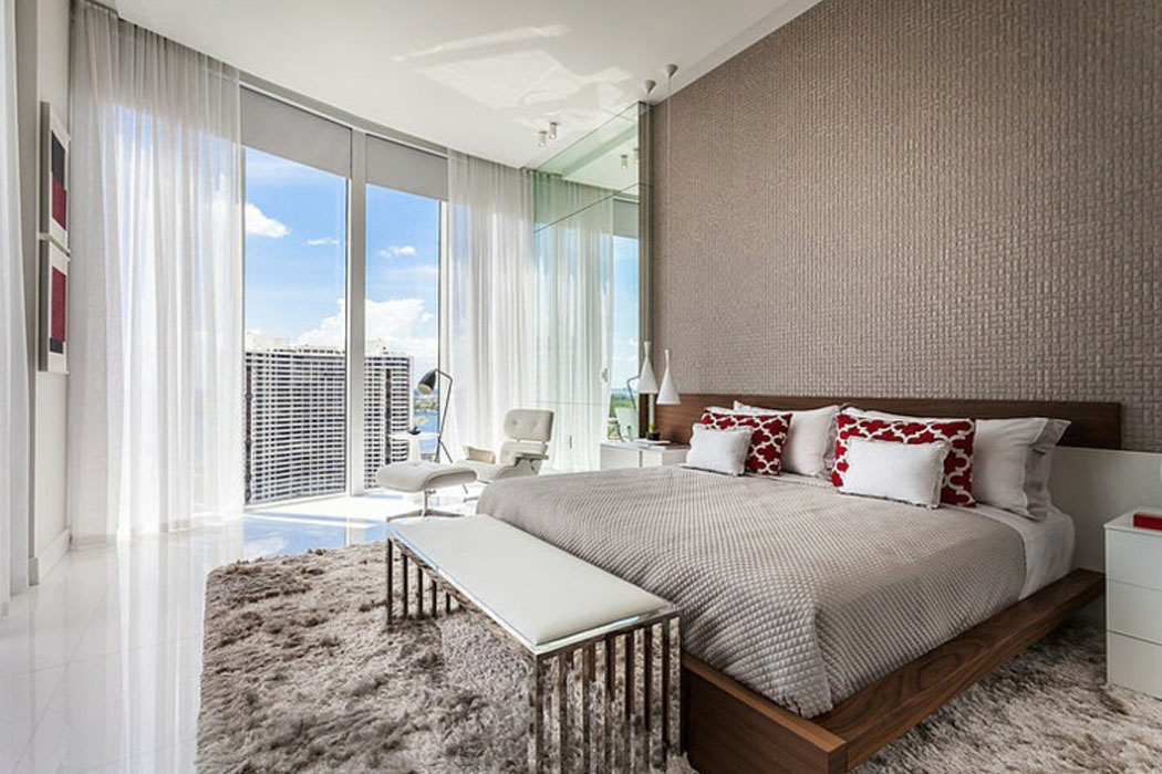 D coration design inspir e par les vacances et l exotisme for Chambre parentale design