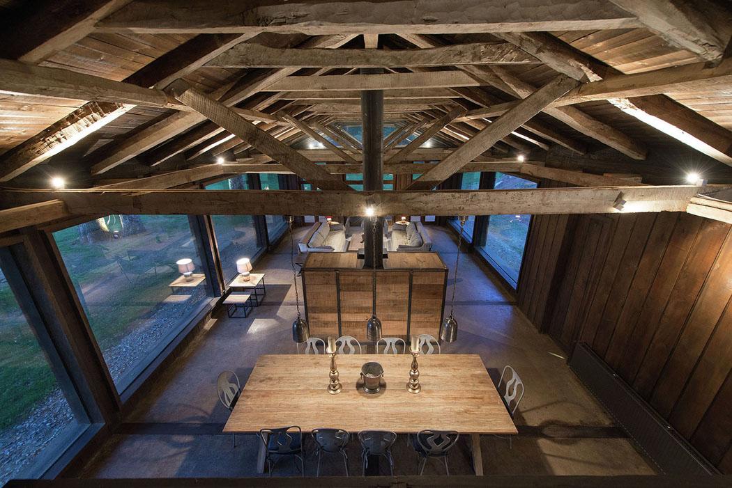 Connu Une grange en bois transformée en jolie maison de vacances rénovée  JV98