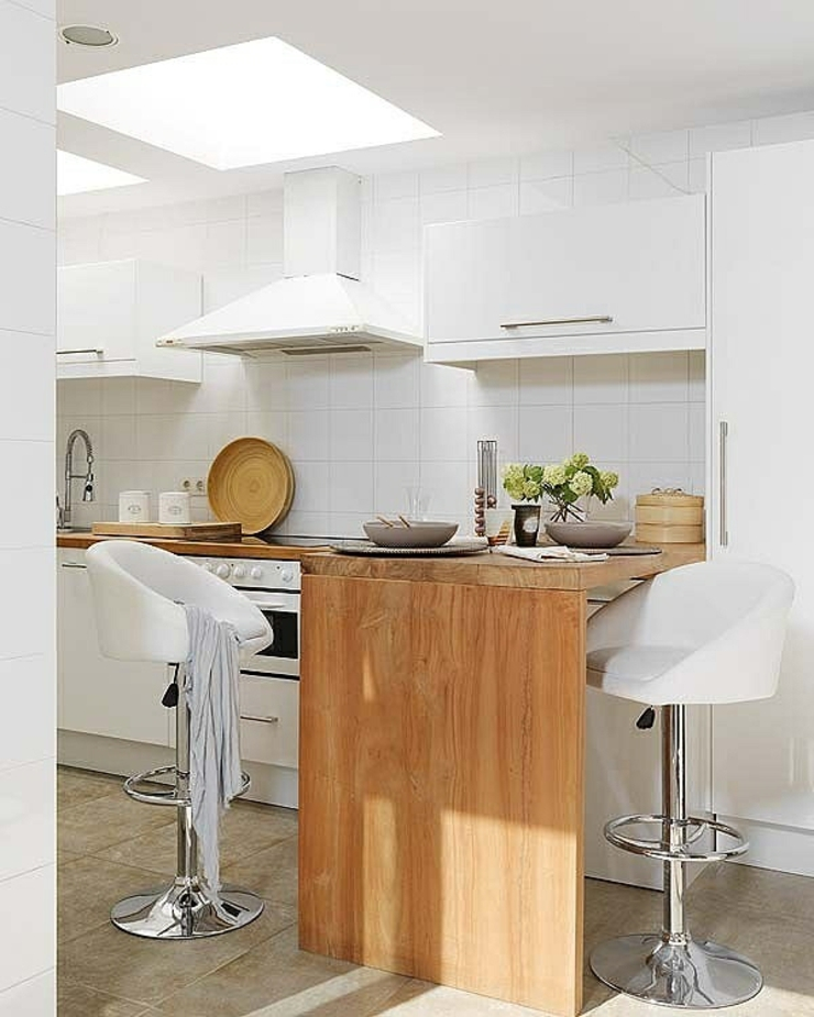 D coration design pour un appartement glam vivons maison - Islas de cocina moviles ...