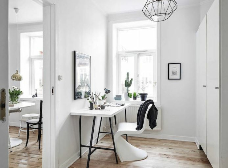 appartement de ville design scandinave