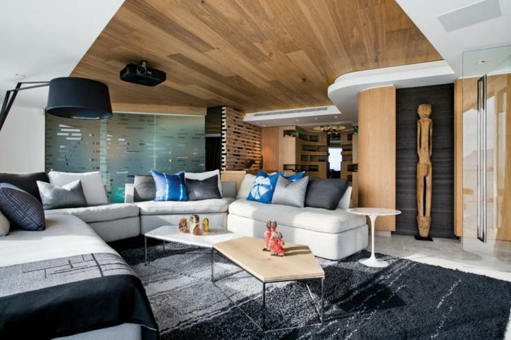 Luxueux appartement avec vue imprenable clifton vivons for Appartement design de luxe blanc