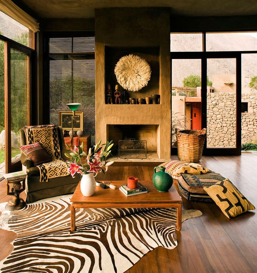 Maison rustique de luxe située au cœur de la nature péruvienne ...