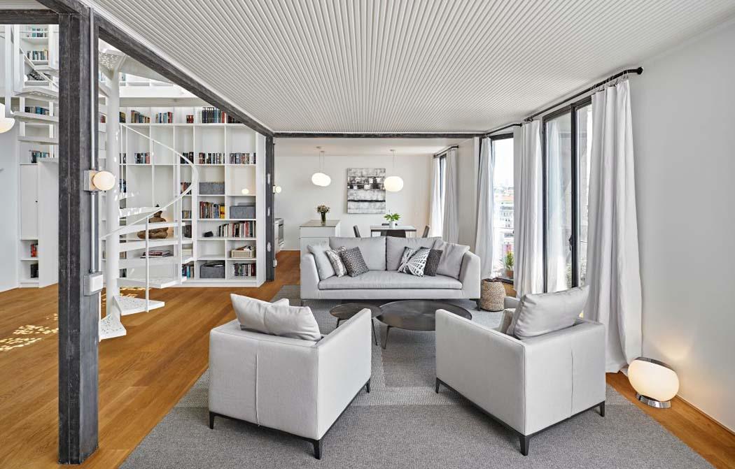 Beauté Rustique Dans Un Appartement De Ville Intérieure