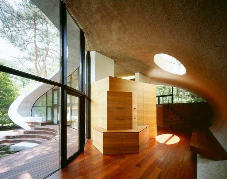 Maison moderne japonaise l architecture futuriste for Architecture futuriste