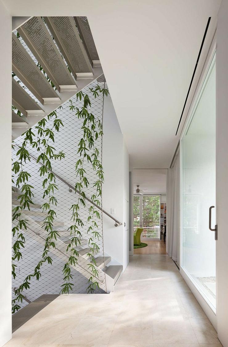 Maison cologique et citadine dans le maryland vivons maison for Decoration escalier maison