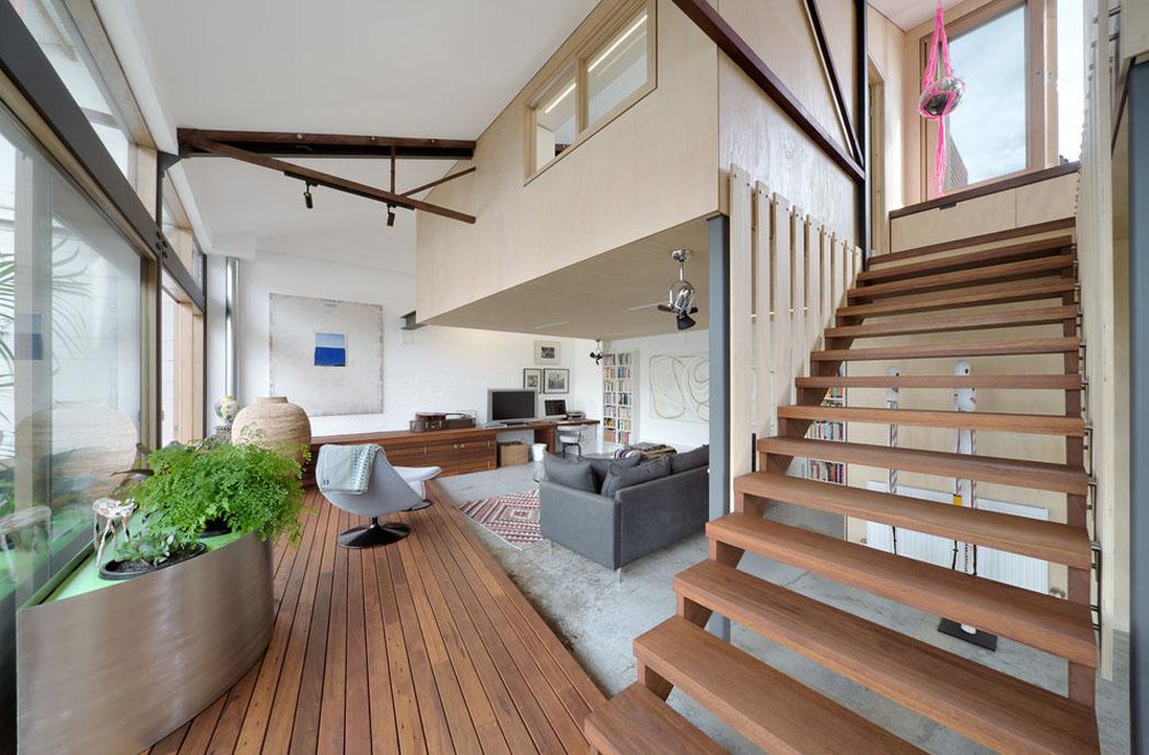 R novation loft projet cr atif et original au centre de for Interieur maison 1960