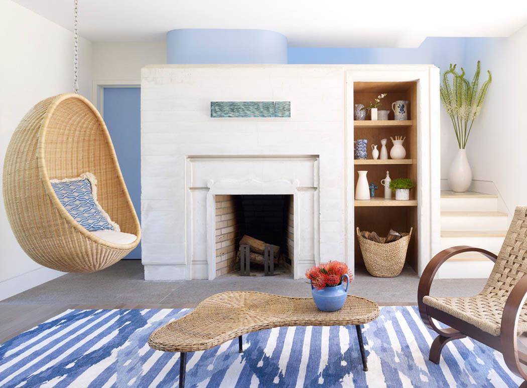 r sidence secondaire moderne au design convivial dans les. Black Bedroom Furniture Sets. Home Design Ideas