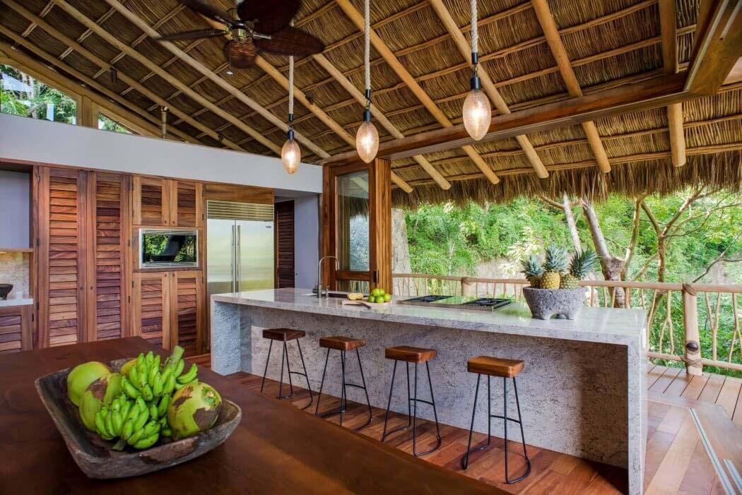 Originale maison location de vacances au mexique avec une - Une maison larchitecture tres originale au mexique ...