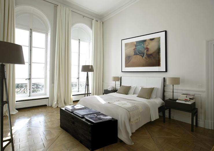 Un h tel particulier au c ur de paris affiche un design l gant vivons maison - Chambre d hotel originale ...