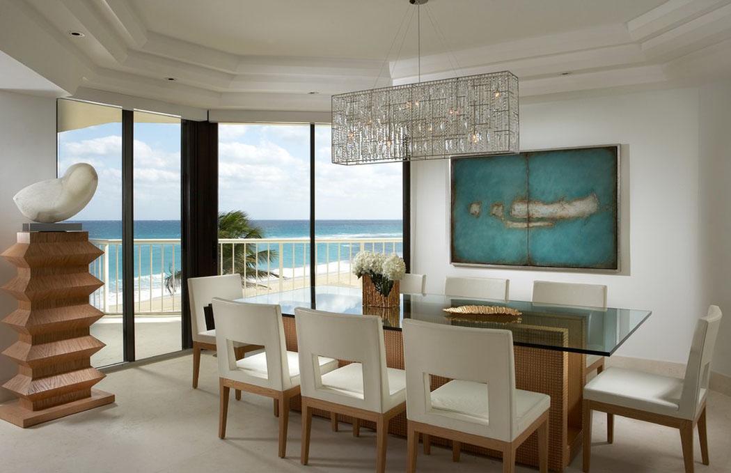 Magnifique int rieur au design l gant de cet appartement - Salle manger scandinave un decor elegant et pratique ...