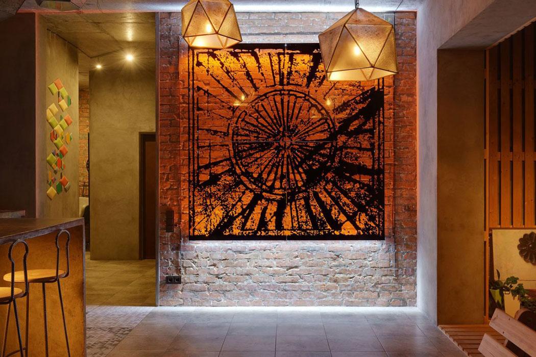 Appartement atypique kiev au design int rieur clectique - Appartement atypique studio persian primavera ...