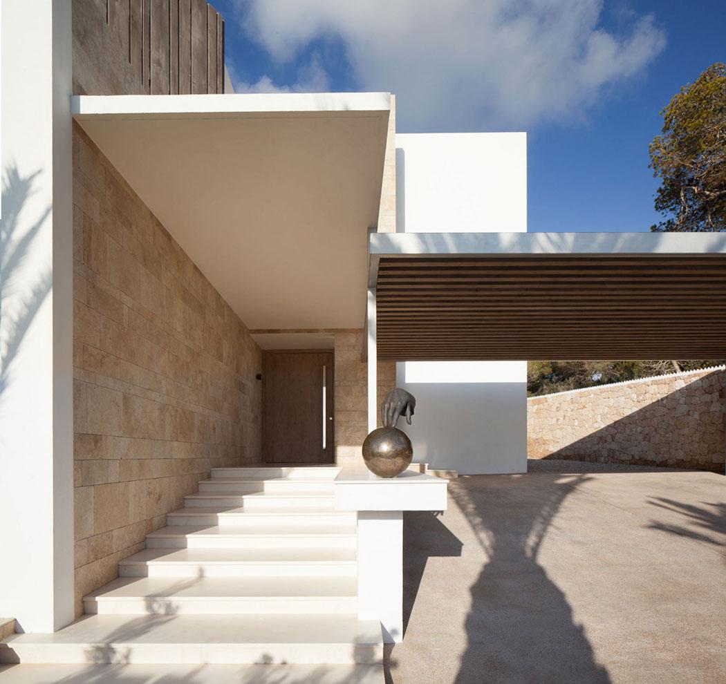 Magnifique r sidence de standing dans les hauteurs d ibiza - La demeure moderne gb house par mmeb architects ...