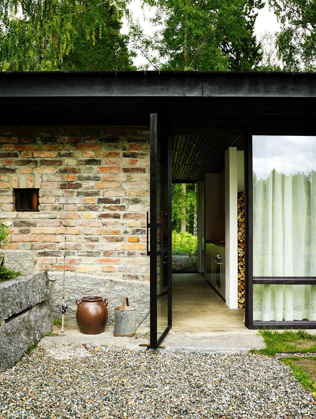 Int ressante et originale maison d architecte de plain - Maison plain pied deco orientale palm springs ...