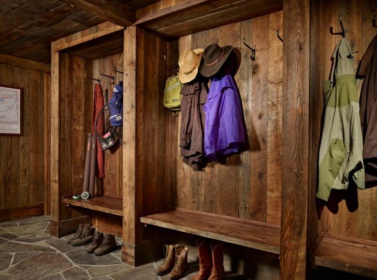 Maison Rustique Enti 232 Rement En Bois Au Montana 201 Tats