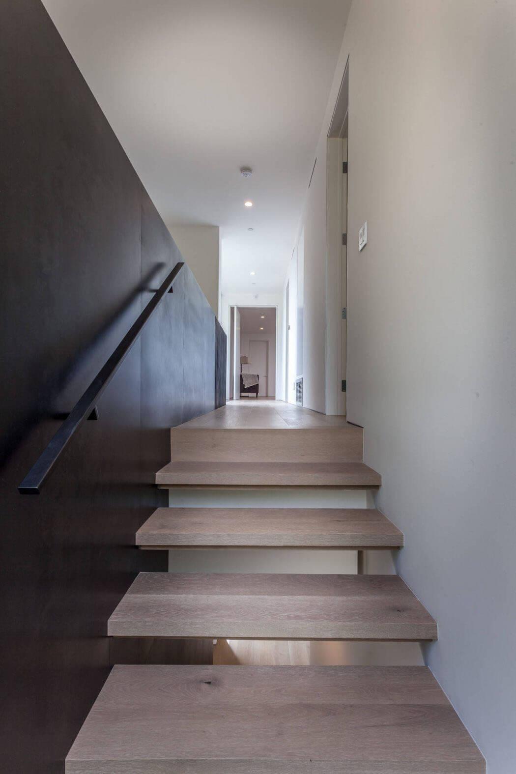 Escalier Interieur Maison Moderne belle maison neuve à los angeles caractérisée par une
